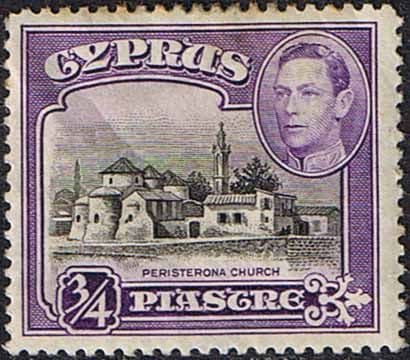 Cyprus 1938 SG 153 Peristerona Church Good Mint