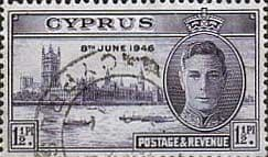 Cyprus Stamps 1946 Victory SG 164 Fine Used SG 164 Scott 156