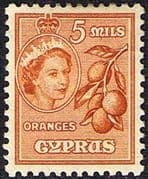 Cyprus 1955 New Currency SG 175 Fine Mint