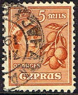 Cyprus 1955 New Currency SG 175 Fine Used