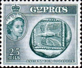 Cyprus 1955 New Currency SG 179 Fine Mint