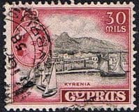 Cyprus 1955 New Currency SG 180 Fine Used