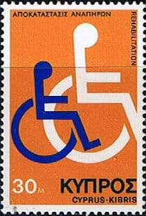 Cyprus 1975 Disabled Persons SG 440 Fine Mint
