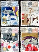Cyprus 1988 Olympic Games Set Fine Mint