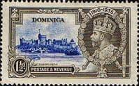 Dominica 1935 King George V Silver Jubilee SG 93 Fine Used