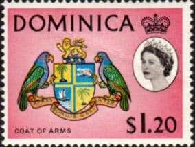 Dominica 1963 SG 176 Coat of Arms Good Mint