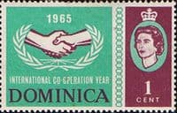 Dominica 1965 International Co-operation Year SG 185 Fine Mint
