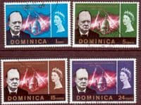 Dominica 1966 Churchill Set Fine Used