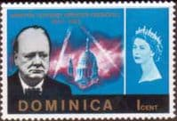 Dominica 1966 SG 187 Churchill Fine Mint