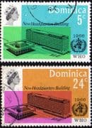 Dominica 1966 World Health Organisation Set Fine Used