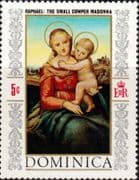 Dominica 1968 Christmas Fine Mint