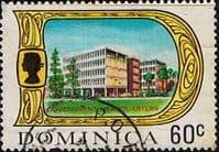 Dominica 1969 SG 287 Government Headquarters Fine Used