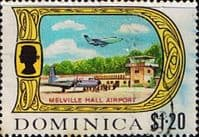 Dominica 1969 SG 288 Melville Hall Airport Fine Used