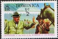 Dominica 1974 Churchill Centenary SG 434 Fine Mint