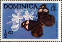 Dominica 1975 Butterflies SG 459 Fine Mint