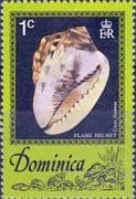 Dominica 1976 Sea Shells SG 555 Fine Mint
