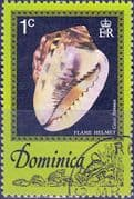 Dominica 1976 Sea Shells SG 555 Fine Used