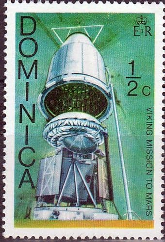 Dominica 1976 Viking Space Mission SG 533 Fine Mint