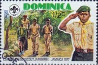 Dominica 1977 Caribbean Scout Jamboree SG 576 Fine Used