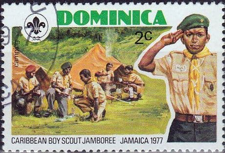 Dominica 1977 Caribbean Scout Jamboree SG 578 Fine Used