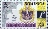 Dominica 1977 Royal Silver Wedding SG 563 Fine Used