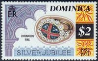 Dominica 1977 Royal Silver Wedding SG 565 Fine Mint