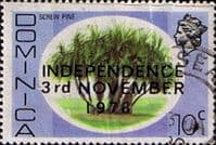 Dominica 1978 SG 640 Independence Screw Pine Fine Used