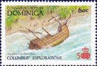 Dominica 1987 Discovery of America by Columbus SG 1079 Fine Mint