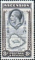 Early Ascension Islands George V and VI 1922-1952