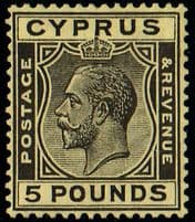 Early Cyprus Stamps issued up to 1935