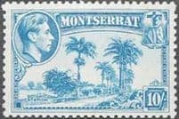 Early Montserrat Stamps 1876 - 1952