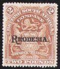 Early Rhodesia 1892 - 1923