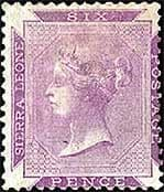 Early Sierra Leone Stamps 1859 - 1935