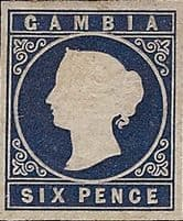 Early Stamps of Gambia
