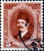Egypt 1923 King Faud I SG 115 Fine Used