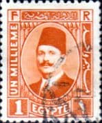 Egypt 1927 King Faud I SG 148 Fine Used