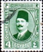 Egypt 1927 King Faud I SG 153 Fine Used