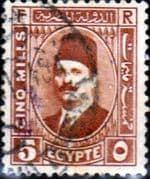 Egypt 1927 King Faud I SG 156 Fine Used