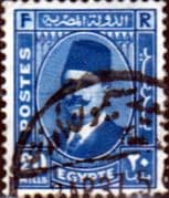 Egypt 1927 King Faud I SG 162 Fine Used
