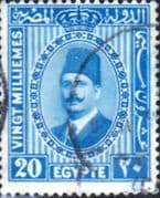 Egypt 1927 King Faud I SG 164 Fine Used