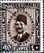 Egypt 1927 King Faud I SG 165 Fine Used
