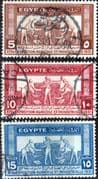 Egypt 1931 Ancient Agriculture Set Fine Used