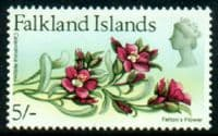 Falkland Islands 1968 Flowers SG 244 Felton's Flower Key Value Fine Mint