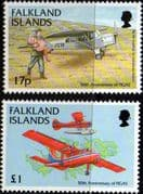 Falkland Islands 1998 Government Air Service Fine Mint