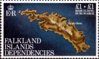 Falkland Islands Dependencies 1982 Rebuilding Fund SG 112 Fine Mint