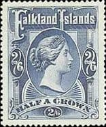 Falkland Islands Queen Victoria to George VI       1869 - 1952