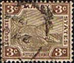 Federated Malay States 1900 SG 16b Tiger Fine Used