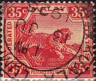 Federated Malay States 1904 SG 46 Tiger Fine Used