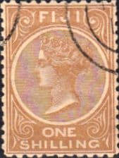 Stamps Postage Stamps Fiji 1881 Queen Victoria SG 68 Mint Scott 44a