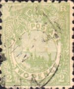 Fiji 1892 Queen Victoria SG 83 Good Used